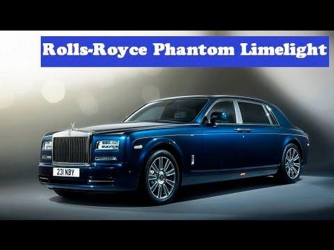 Rolls-Royce Phantom Limelight, debut next year based on an all-aluminum modular architecture