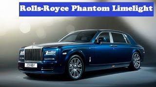 Rolls-Royce Phantom Limelight, debut next year based on an all-aluminum modular architecture
