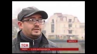 На Закарпатье водолазы освоили контрабанду сигарет (видео)