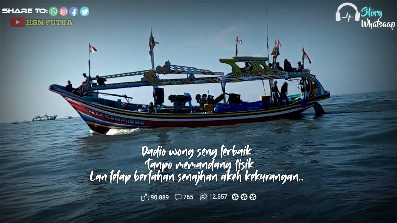 Story Wa Quotes Nelayan Puger Jember Indonesia Youtube