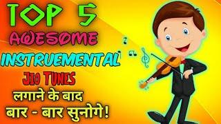 Top 5 Instrumental Jio Tunes | Best Instrumental Caller Tunes | Techno Fais screenshot 2