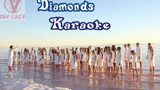 One voice children's choir- DIAMONDS KARAOKE