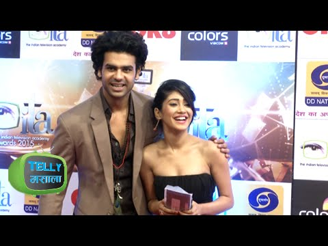 GR8 ITA Awards 2015 | Lakhan & Poonam of &TV's Begusarai Show Their Lucky Charm