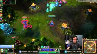 Salce plays Orianna vs Vladimir mid lane