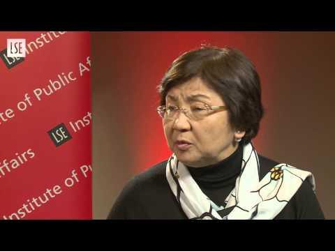 Above the Parapet – Women in Public Life: Roza Otunbayeva