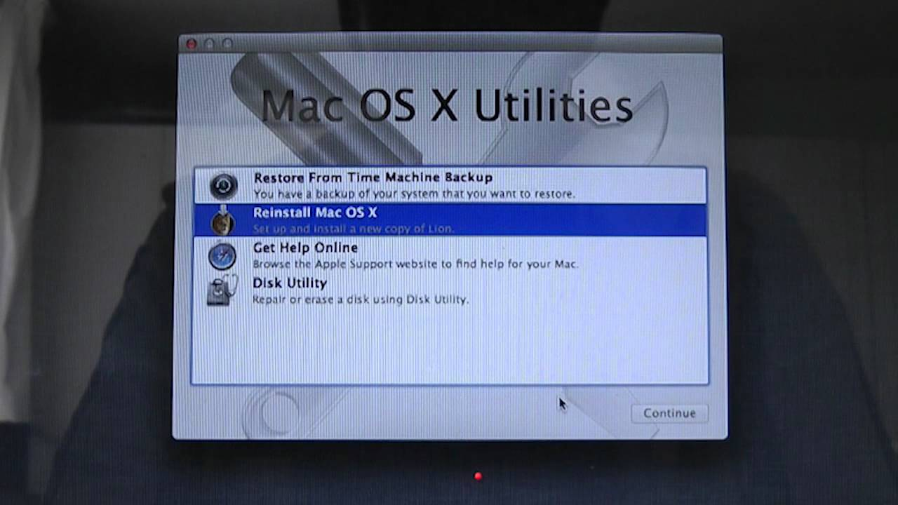 Mac OSX Lion How to do a Clean Install