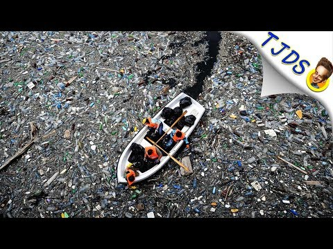 Stunning Photos Of Ocean Pollution & New Cleanup Solution