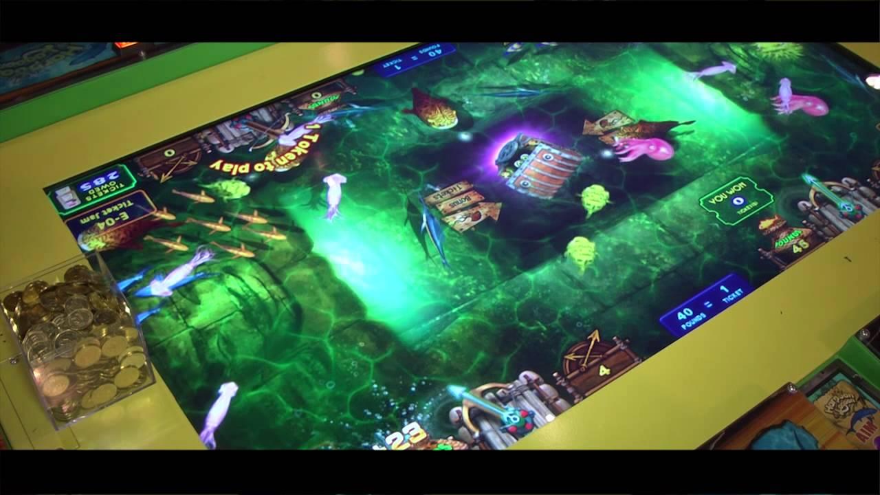 Harpoon Lagoon - Table Arcade Redemption - IAAPA 2012 ...