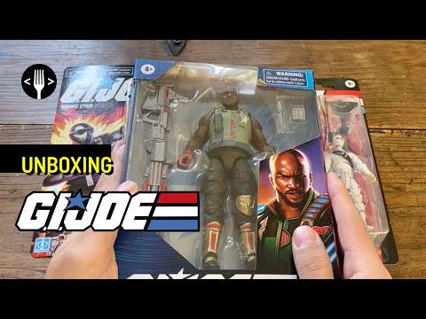 Unboxing: G.I. Joe, Retro y Classified Series