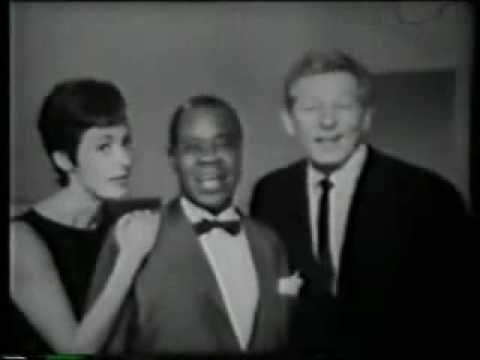 Louis Armstrong, Caterina Valente and Danny Kaye