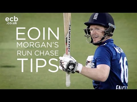 England captain Eoin Morgan on how to construct a run chase