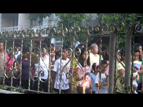 Good Friday Procession in Banga, Aklan April 22, 2011 pt. 1