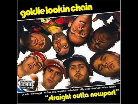 Goldie lookin chain your mothers got a penis