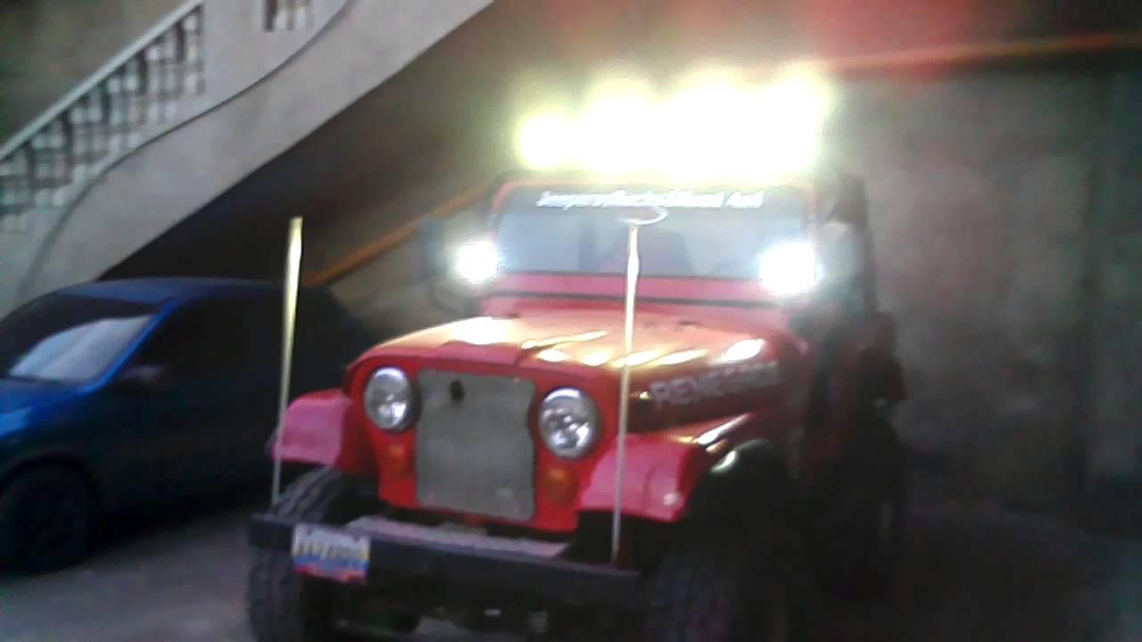 Resultado de imagen para jeep con luces led