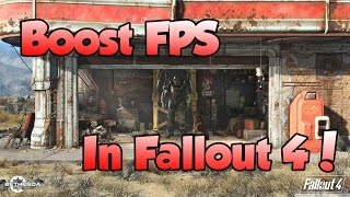 how to boost fps in fallout 4 nvidia graphics cards