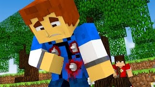 Minecraft Daycare -  SHOT IN THE BACK !?