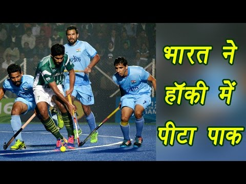 India beat Pakistan by 3-2 in Asian Hockey Champions Trophy  | वनइंडिया हिन्दी