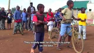 Riding a bicycle | African Slum Journal