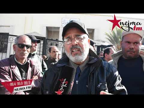 أزمة معمل الحليب بسيدي بوعلي العمال ينفذون وقفة احتجاجية امام الولاية