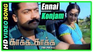 Download video Kaaka Kaaka movie scenes | Ennai Konjam Matri Song | Suriya rejects Jyothika's love proposal