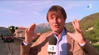 Dchets gaz naturel loi littoral en Corse  entretien avec Nicolas Hulot