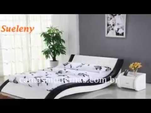 Camas modernas lindas 20 modelos para decorar confira - Modelo de camas ...
