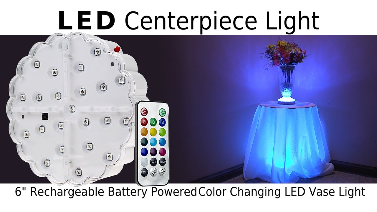 Led Table Centerpiece Light You