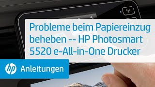 Probleme beim Papiereinzug beheben -- HP Photosmart 5520 e-All-in-One Drucker
