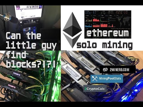 ETHEREUM ,  WHY WE SOLO MINE (380 Mh/s)