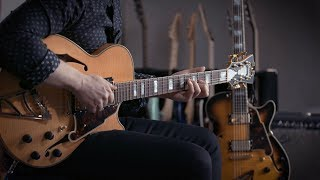 D'Angelico Semi-Hollowbody & Vox AC15 Combo Amp | Demo With Jared Scharff