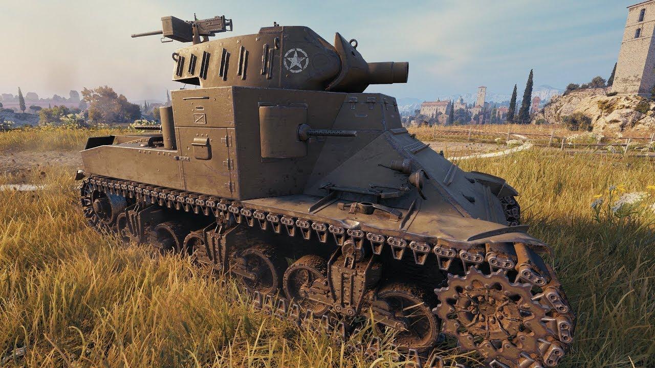 World of Tanks M2 Medium Tank - YouTube