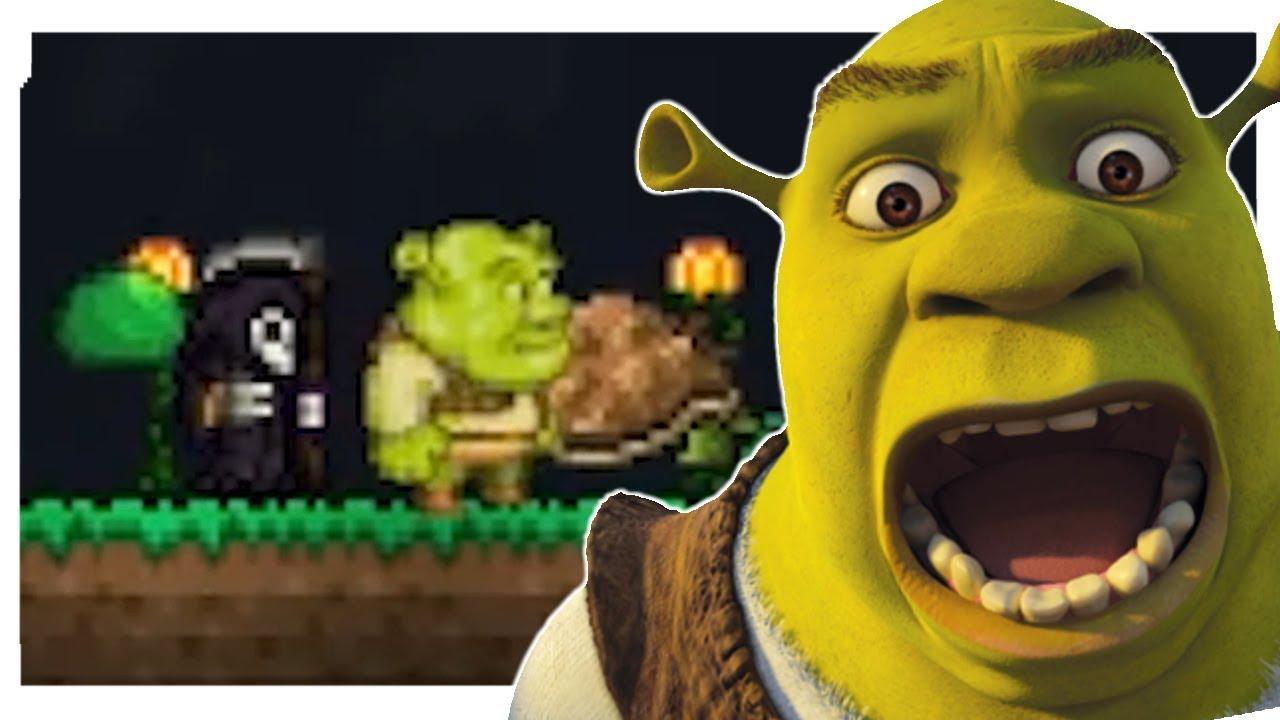 Shrek Really Terraria Mod Spotlight Afk S Pets And More Youtube