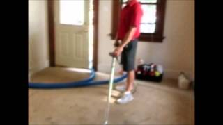 Trashed Carpet In Fort Wayne Rental House Cleaned Up Like New By Referral Cleaning & Restoration