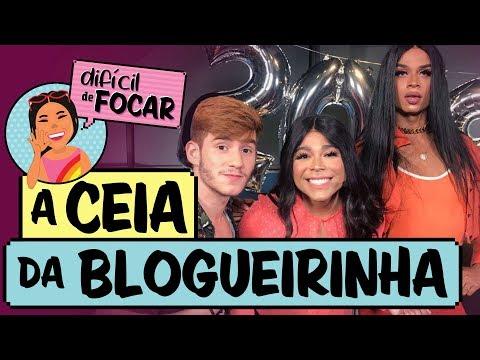Difícil de Focar com Blogueirinha feat Klébio Damas e Lia Clark    Ceia da Blogueirinha