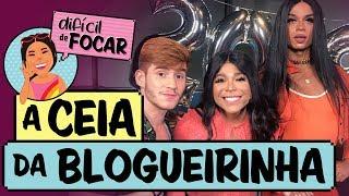 Difícil de Focar com Blogueirinha feat. Klébio Damas e Lia Clark     Ceia da Blogueirinha