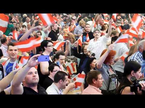 Stimmungsbilder von der 1.-Mai-Kundgebung der FPÖ in Linz 2012 - Kurzvideo 2