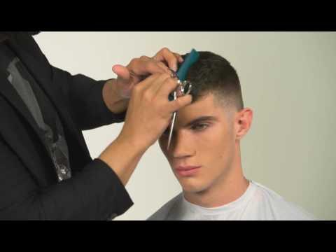 Men's Haircut Technique for a Short