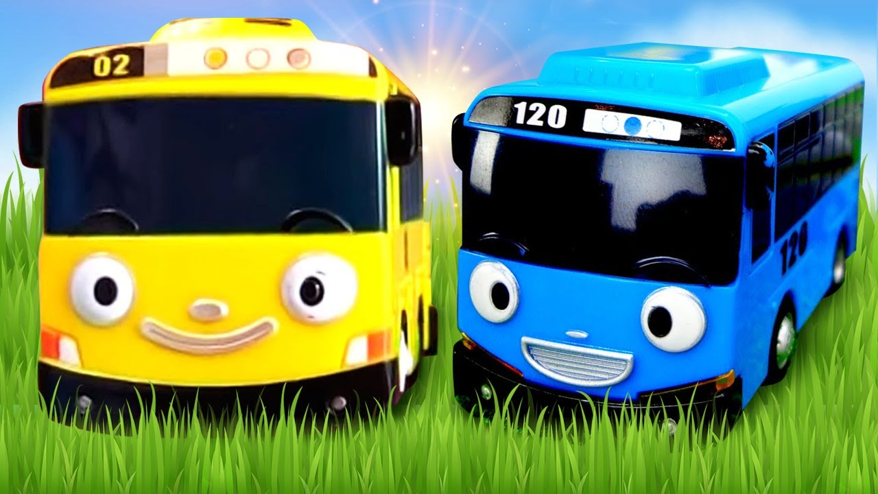 Tayo episodes in English – Street vehicles for kids & trucks' toys