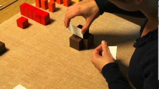 Finding the Cube Root with a Zero at the End (Montessori Elementary Math)