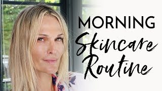 My Morning Skincare Routine Under 10 Minutes | Molly Sims 2018