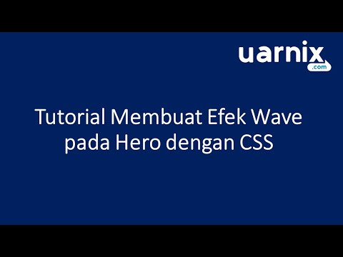 Hero Wave Tutorial With CSS thumbnail