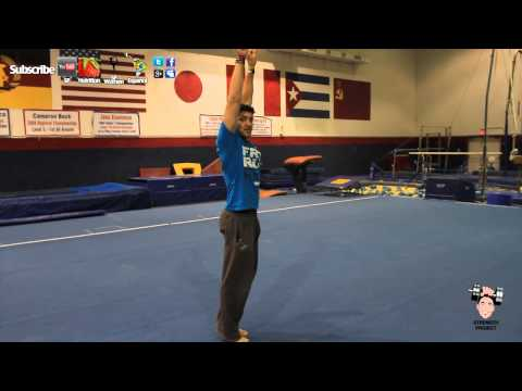 Learn How To Do A Back Handspring Tutorial Gymnastics Part 1