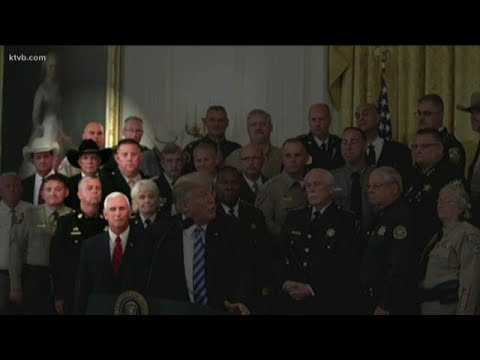 Canyon County sheriff witnesses President Trump's anger at op-ed