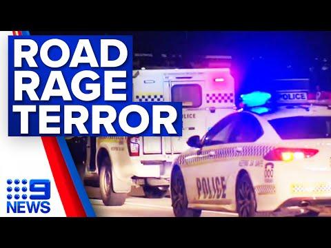 Learner driver hospitalised after road rage attack | 9 News Australia
