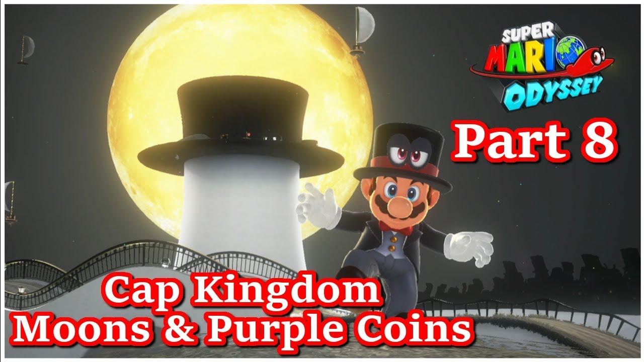 purple coins cap kingdom
