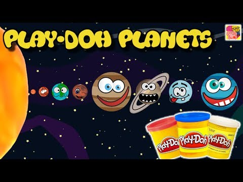 How To Make | PLAY DOH PLANETS COMPILATION - Play Doh Universe Planets Series 🎨 Crafty Kids