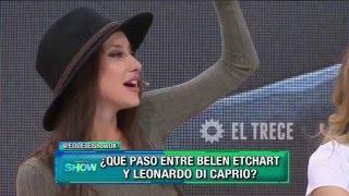 La confusa anécdota de Belén Etchart con Leo DiCaprio