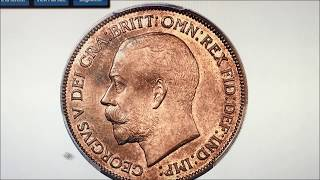 1933 BRITISH KING GEORGE 5TH ALREADY AT 37000