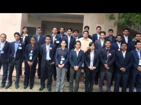 Aegis Global Academy's Class of 2012 Participants IIM Indore Visit