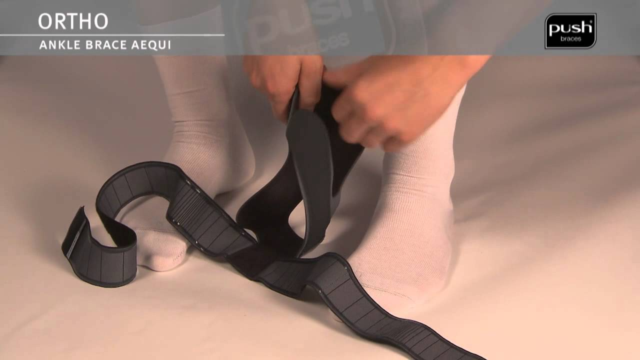 Push Braces | ortho Ankle Brace Aequi